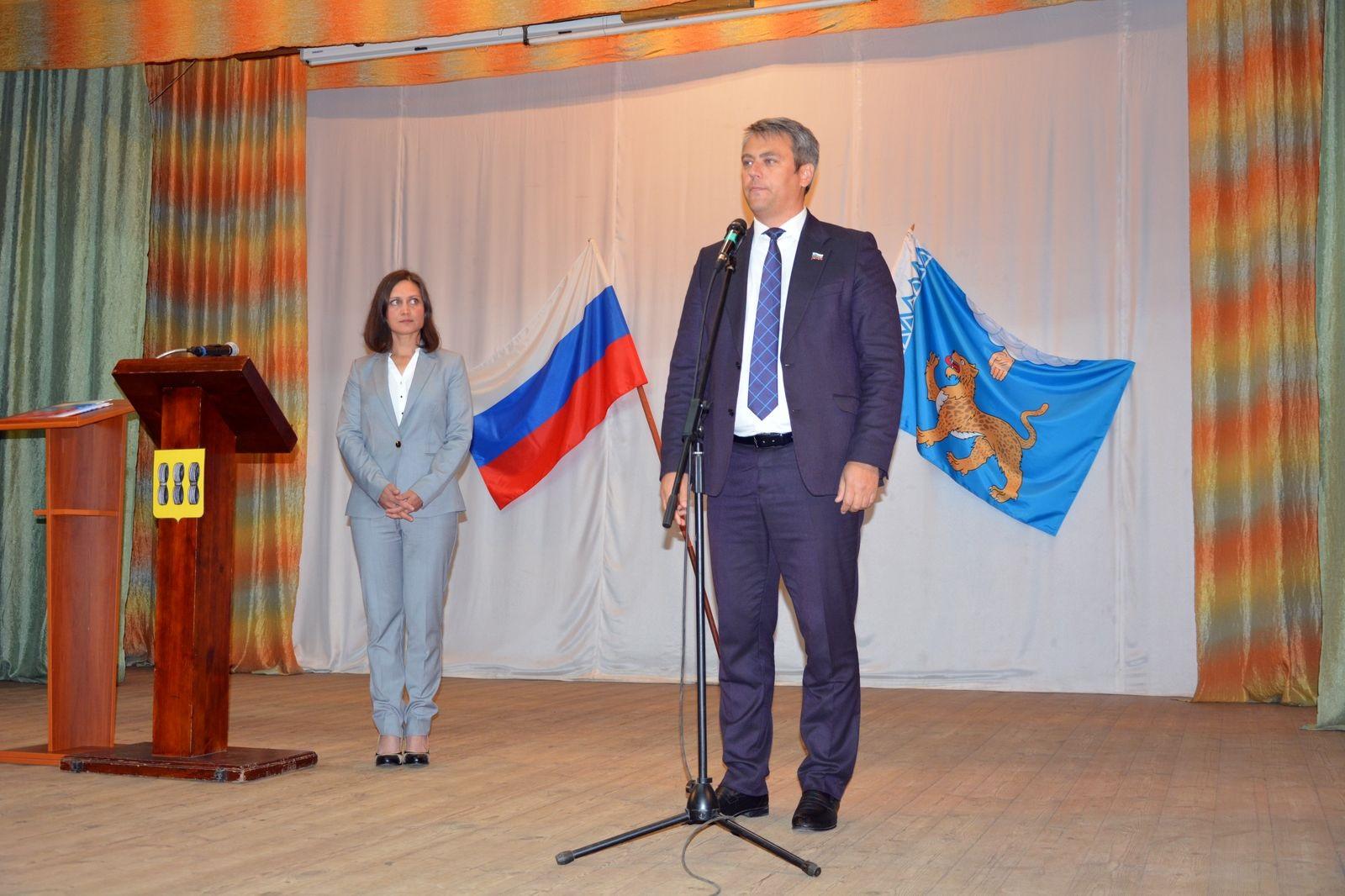 Инаугурация главы муниципалитета прошла в Новоржевском районе
